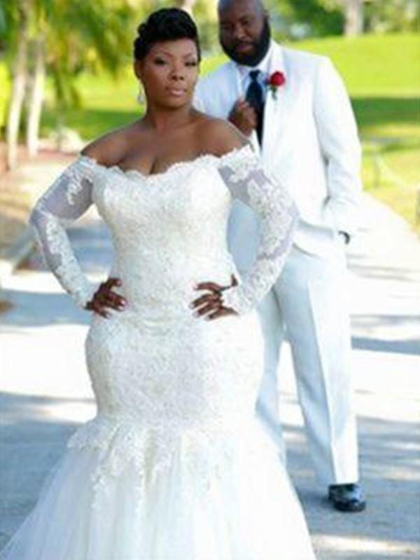 Chapel Train Ball Gown High Neck Satin Wedding Dresses
