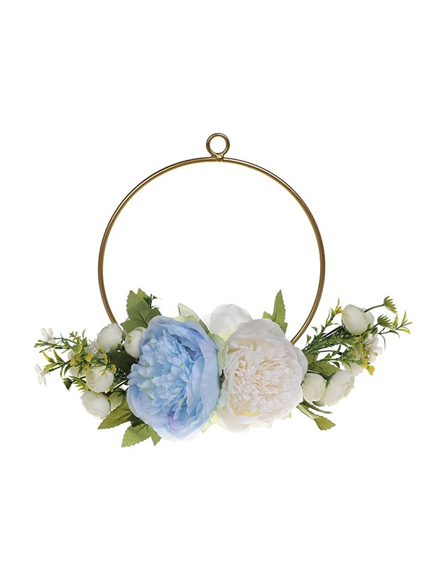 Girly Round Plastic Bridal Bouquets