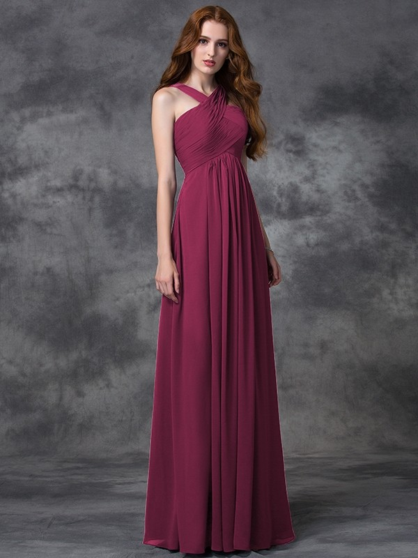 8c30e04a6f9 ... Floor-Length A-Line Princess Straps Sleeveless Ruched Chiffon  Bridesmaid Dresses · show as picture · show as picture · black · blue ·  brown · burgundy ...