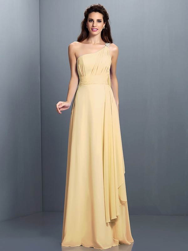 c13659a69d7 ... One-Shoulder Sleeveless Pleats Chiffon Bridesmaid Dresses · show as  picture · show as picture · black · blue · brown · burgundy · champagne ...