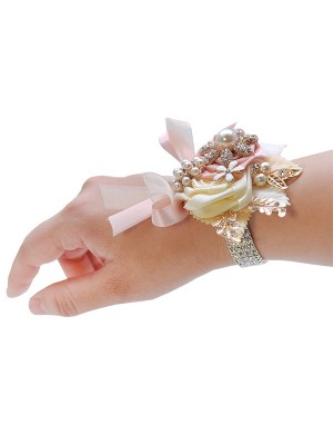 Fashion Satin Wrist Corsage