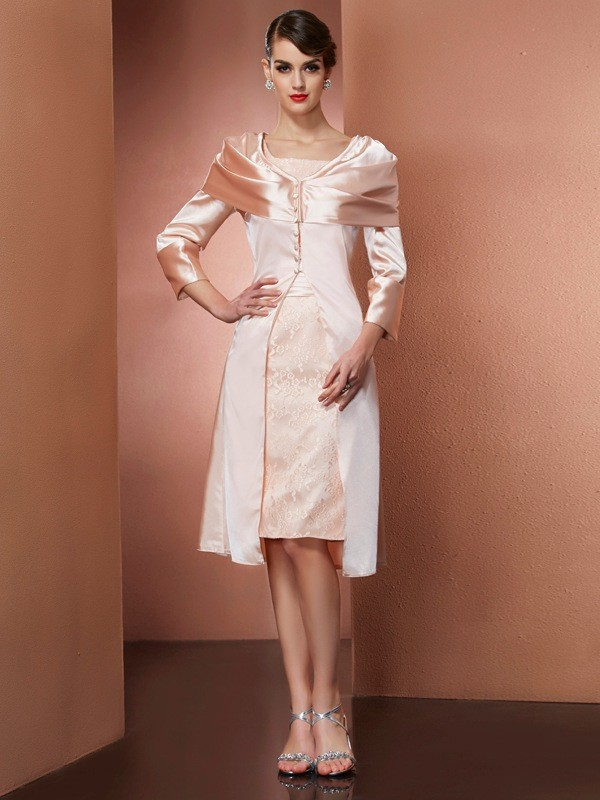 Fashion Elastic Satin Long Sleeves Woven Special Occasion Wrap