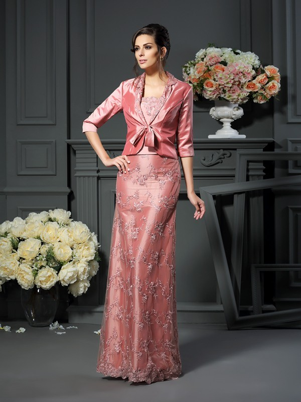 Fashion Taffeta Special Occasion 3/4 Sleeves Wrap