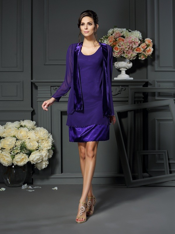 Stylish Long Sleeves Special Occasion Chiffon Wrap