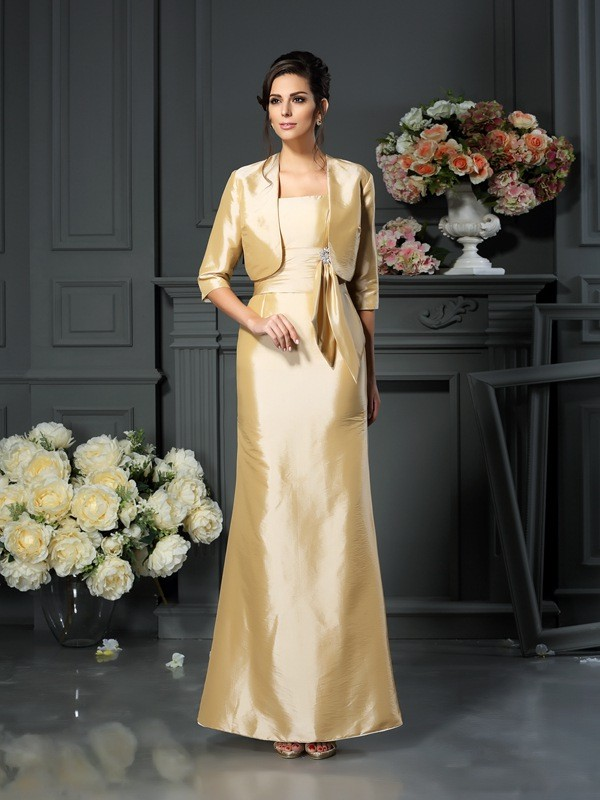 Fashion 1/2 Sleeves Special Occasion Taffeta Wrap