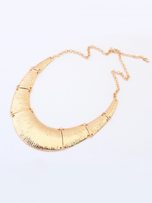 The Most Stylish Occident Hyperbolic Metallic Do the Old Retro Hot Sale Necklace