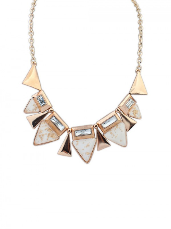 The Most Fashionable Occident OL Style Geometry Triangle Elegant Hot Sale Necklace