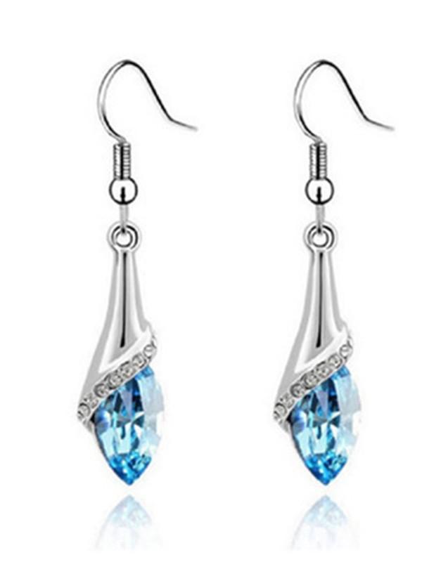 Elegant Alloy With Crystal Hot Sale Ladies's Earrings