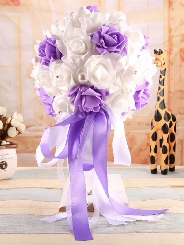 Graceful Round PE Bridal Bouquets