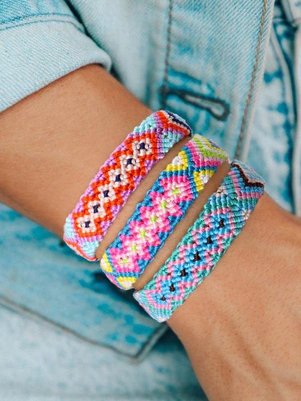 Girly Cotton Thread Hot Sale Bracelets