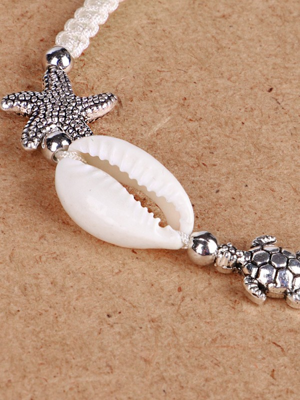 Attractive Thread Shell Hot Sale Bracelets