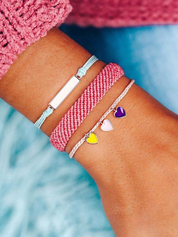 Excellent Wax Thread Hot Sale Bracelets(3 Pieces)