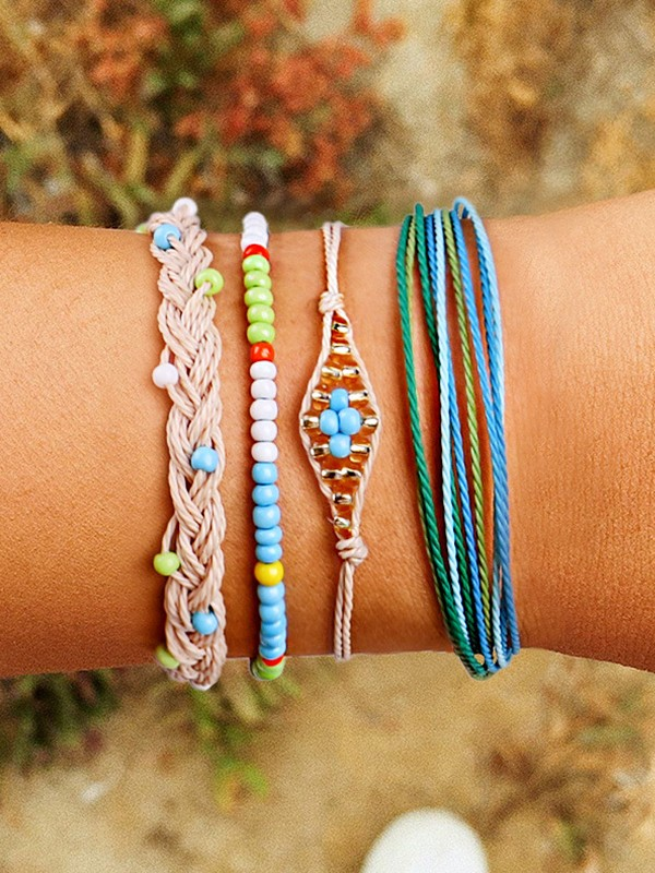 Perfect Plastics Resins Hot Sale Bracelets(4 Pieces)