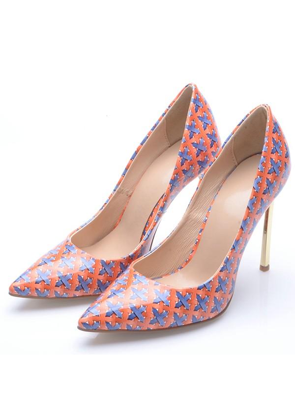 Fashion Trends Women's Closed Toe Stiletto Heel High Heels