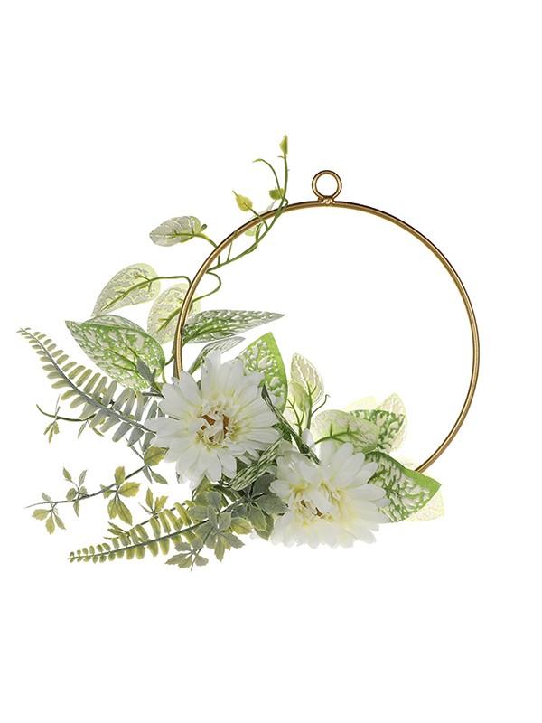 Fancy Round Plastic Bridal Bouquets
