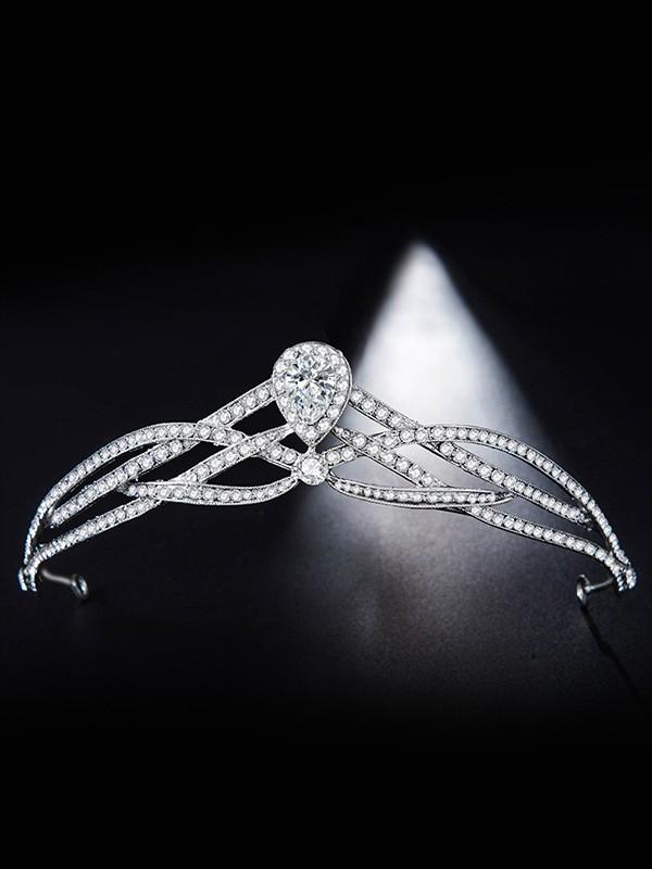Bridal Pretty Alloy With Rhinestone Headpieces