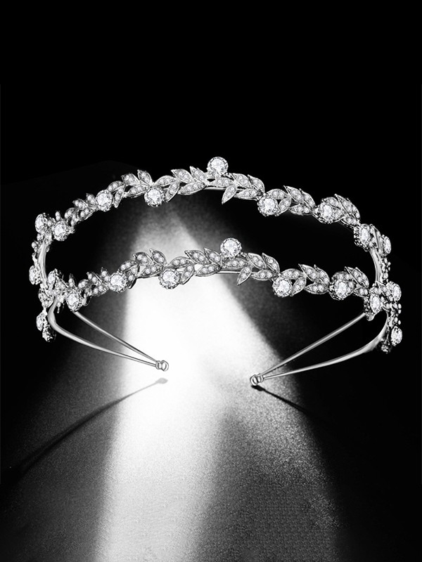 Trending Bridal With Rhinestone Alloy Headpieces