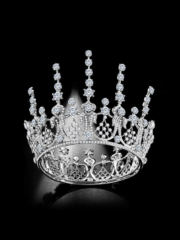 Bridal Luxurious Alloy With Rhinestone Headpieces
