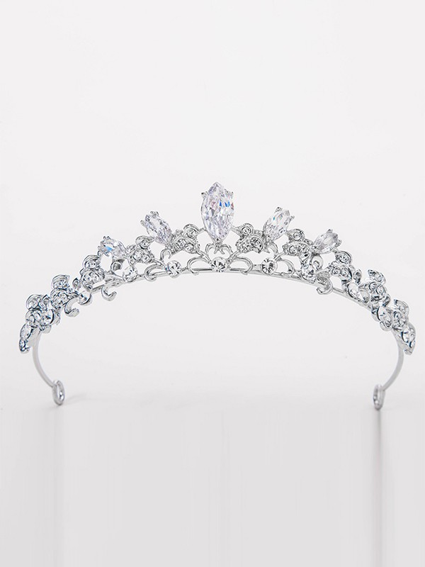 Elegant Alloy Bridal With Rhinestone Headpieces