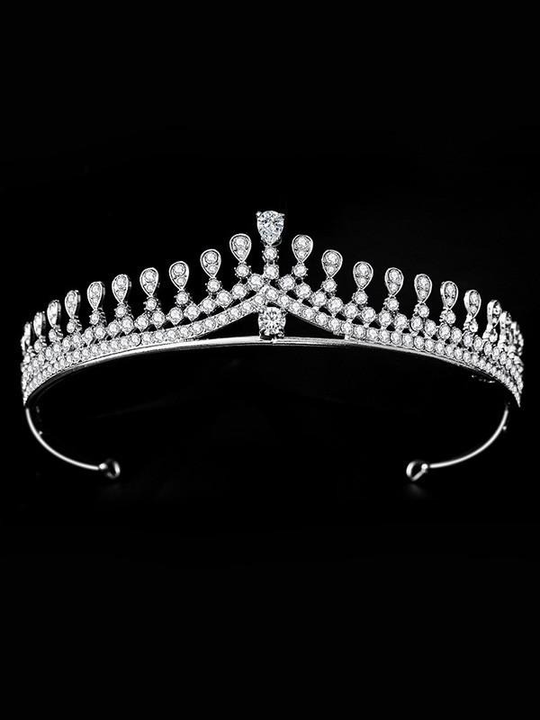 Bridal Charming Alloy With Rhinestone Headpieces