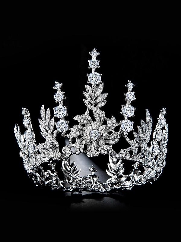 Bridal Glamorous Alloy With Rhinestone Headpieces