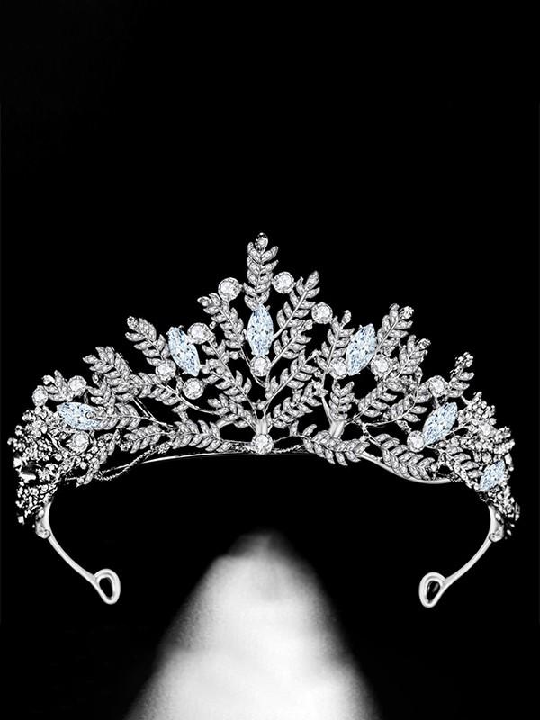 Charming Alloy Bridal With Rhinestone Headpieces