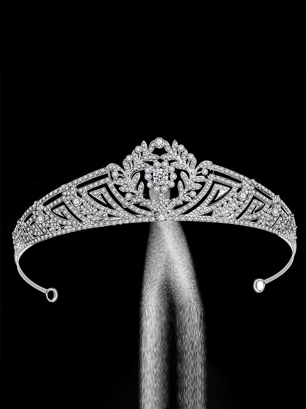 Extraordinary With Rhinestone Alloy Bridal Headpieces