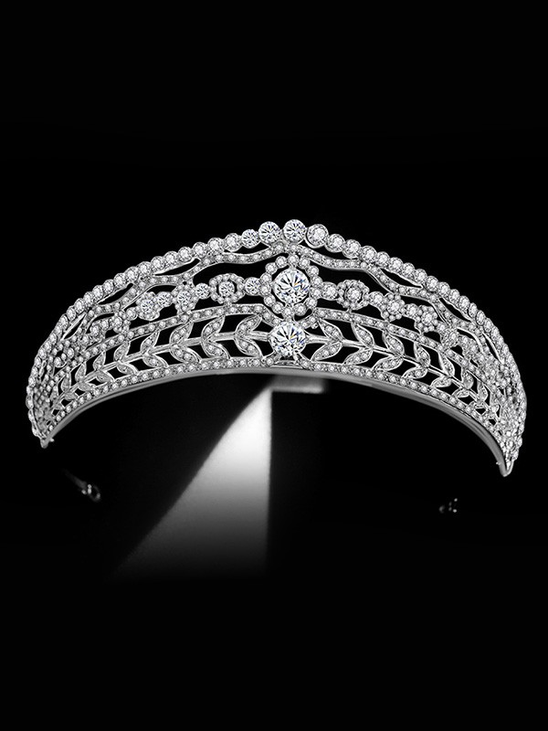 Bridal Stunning Alloy With Rhinestone Headpieces