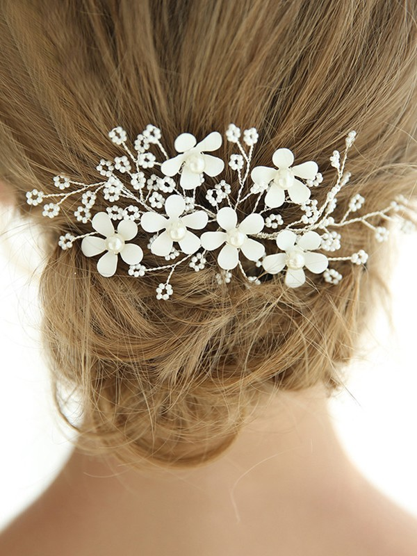 New Style Alloy With Imitation Pearl Headpieces