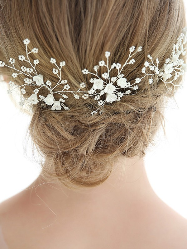 Fancy Alloy With Imitation Pearl Headpieces