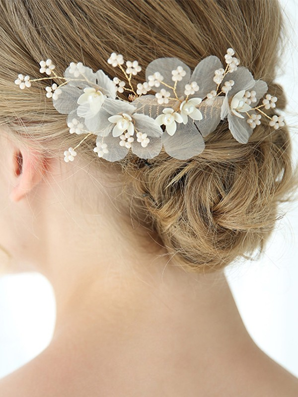 Beautiful Alloy With Imitation Pearl Headpieces