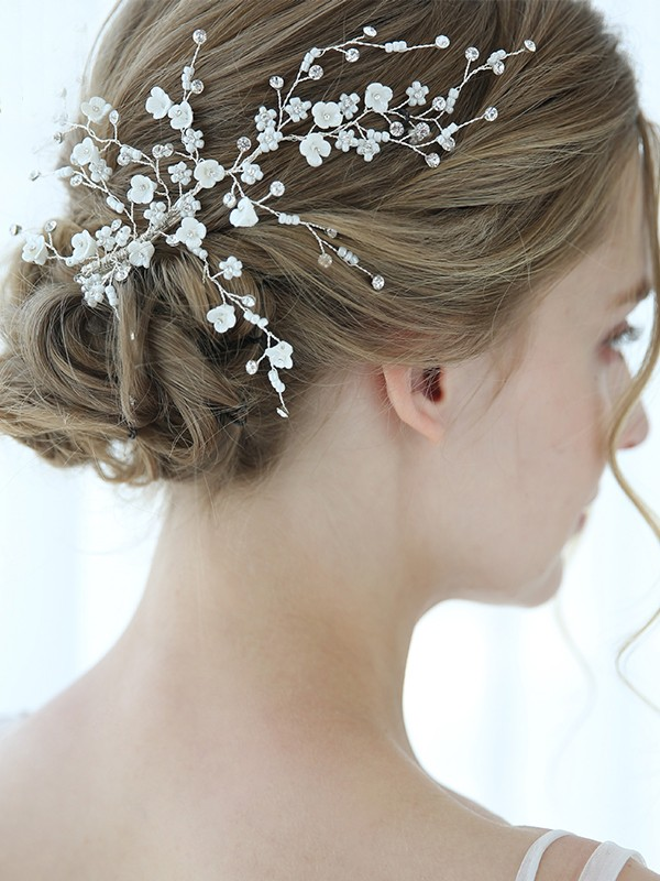 Lovely Alloy With Imitation Pearl Headpieces