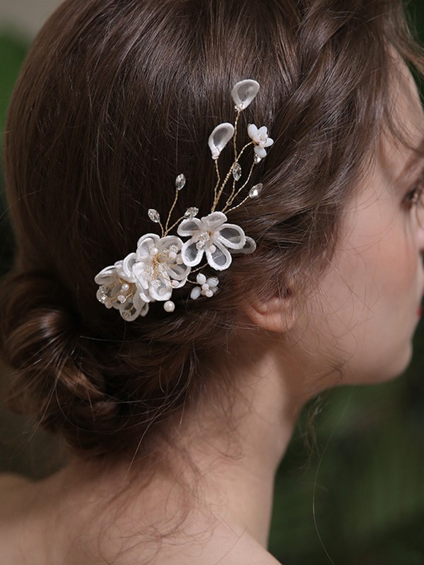 Glamorous Alloy With Crystal/Imitation Pearl Headpieces
