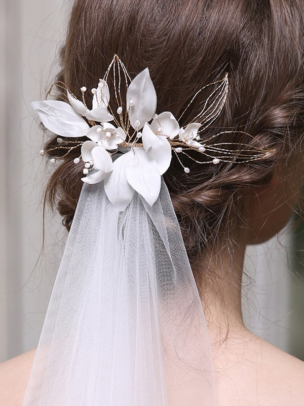 Shinning Alloy With Imitation Pearl Headpieces