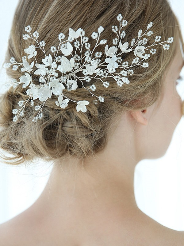 Personalized With Flower Alloy Headpieces