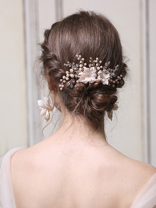 Gorgeous Alloy With Pearl Headpieces
